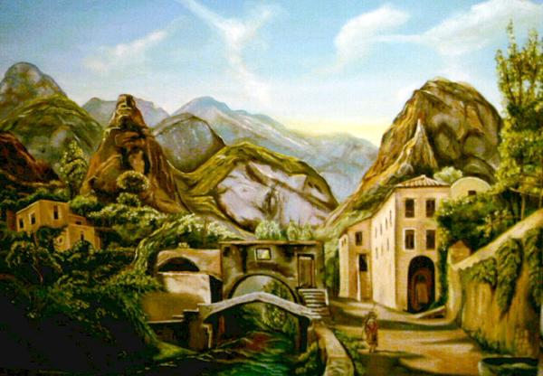 Artevizzari pittore del mese for Priolo arredamenti roma